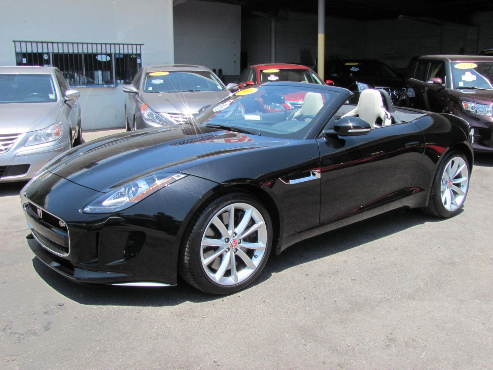 2016 Jaguar F-TYPE S Convertible