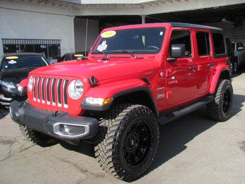 2018 Jeep Wrangler Unlimited All New Sahara 4x4 (Lifted)