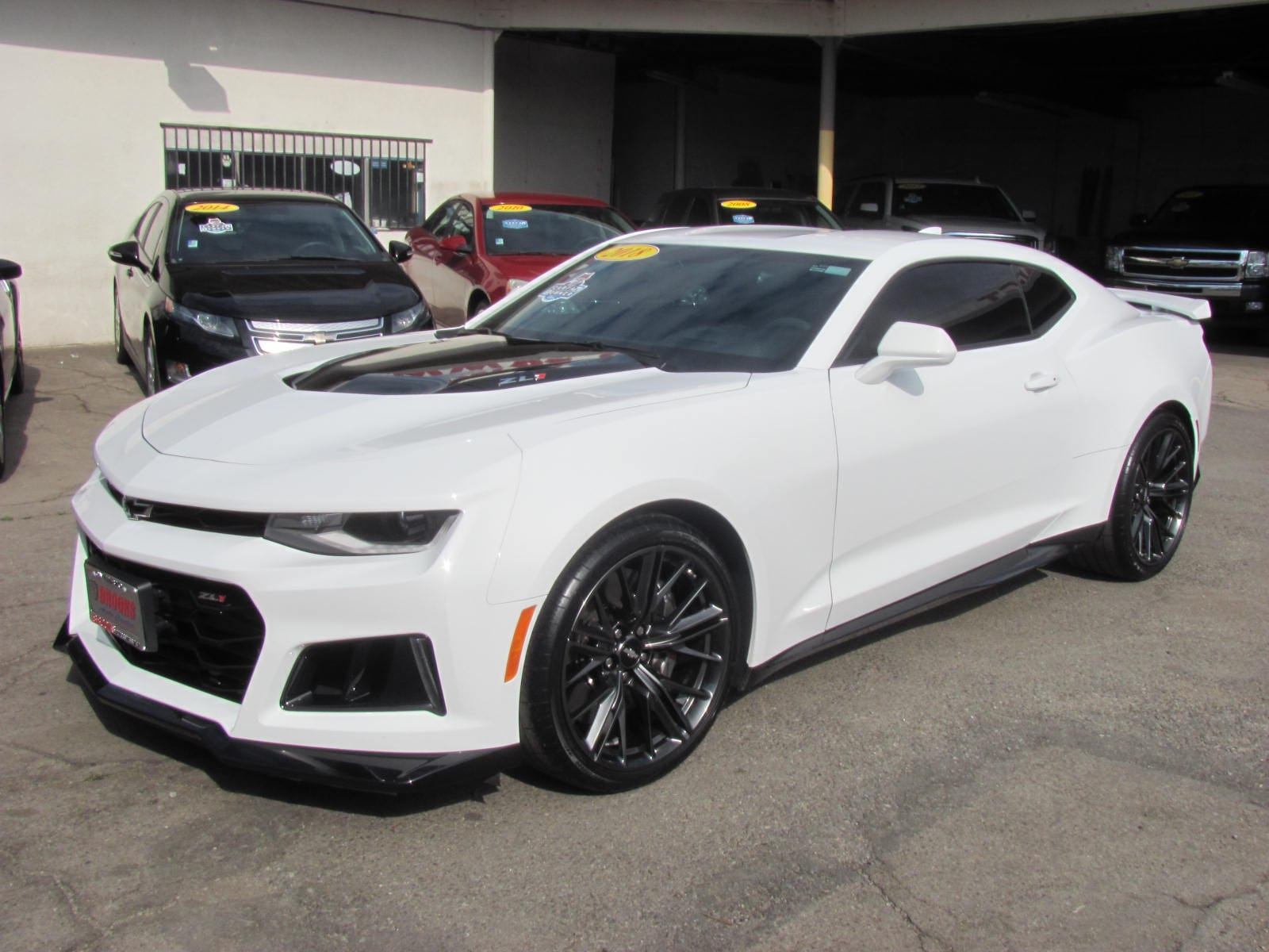 2018 Chevrolet Camaro ZL1 (Supercharged) Coupe