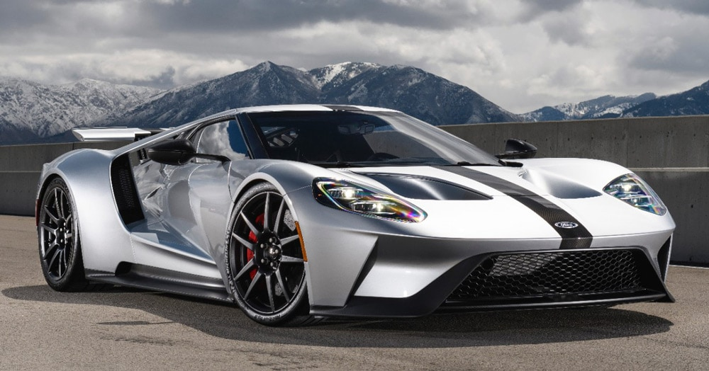 One Look At The Ford Gt Is Really All It Takes To Understand What This Car Is All About With Dynamic Lines And Sharp Angles All Over A Low And Wide Stance