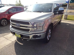 2018 Ford F-150 King Ranch Cab; Styleside; Super Crew