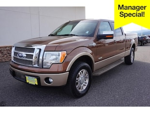 2012 Ford F-150 King Ranch Cab; Styleside; Super Crew