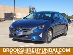 Certified 2019 Hyundai Elantra SEL Sedan For Sale in Brookshire, TX