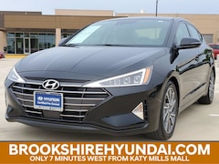 Certified 2019 Hyundai Elantra Limited Sedan For Sale in Brookshire, TX