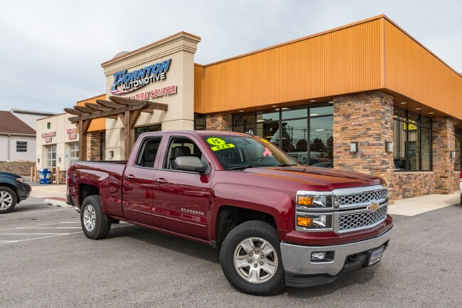 Used 2015 Chevrolet Silverado 1500 LT Truck Double Cab For Sale near  near Manchester, Dover, York, Red Lion, Middletown, East York, Lancaster.