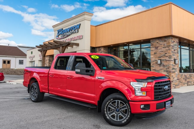 Used 2015 Ford F-150 Sport Truck SuperCrew Cab For Sale near  near Manchester, Dover, York, Red Lion, Middletown, East York, Lancaster.