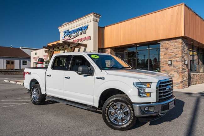 Used 2016 Ford F-150 XLT Truck SuperCrew Cab For Sale near  near Manchester, Dover, York, Red Lion, Middletown, East York, Lancaster.