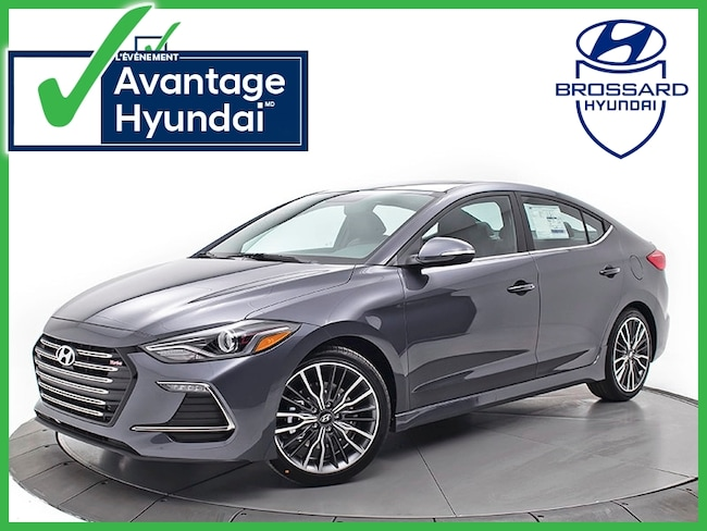 2018 Hyundai Elantra Sport Berline