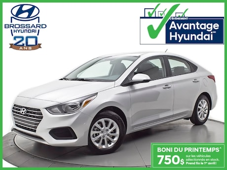 2019 Hyundai Accent Preferred Berline