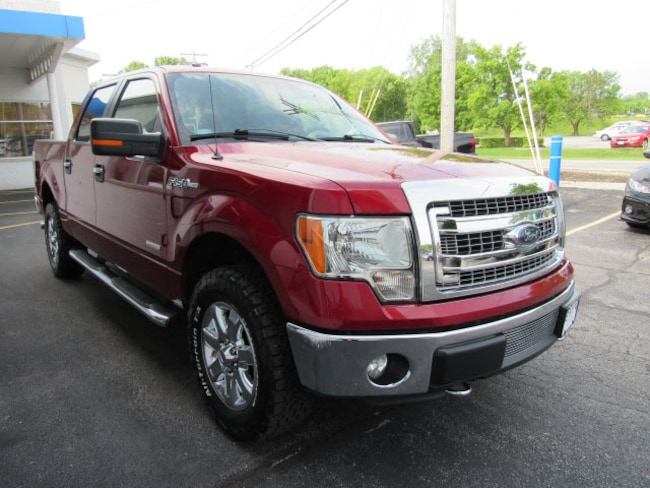 pre-owned 2013 Ford F-150 Truck SuperCrew Cab 1FTFW1ET9DKE63587 for sale in Toledo