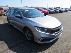 New 2019 Honda Civic EX Sedan 19XFC1F31KE010099 in Toledo, OH