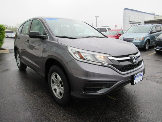 certified pre-owned 2016 Honda CR-V LX  FWD SUV 3CZRM3H34GG702916 for sale in Toledo