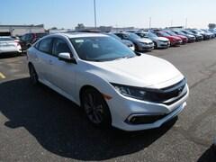 New 2019 Honda Civic EX Sedan 19XFC1F36KE009417 in Toledo, OH