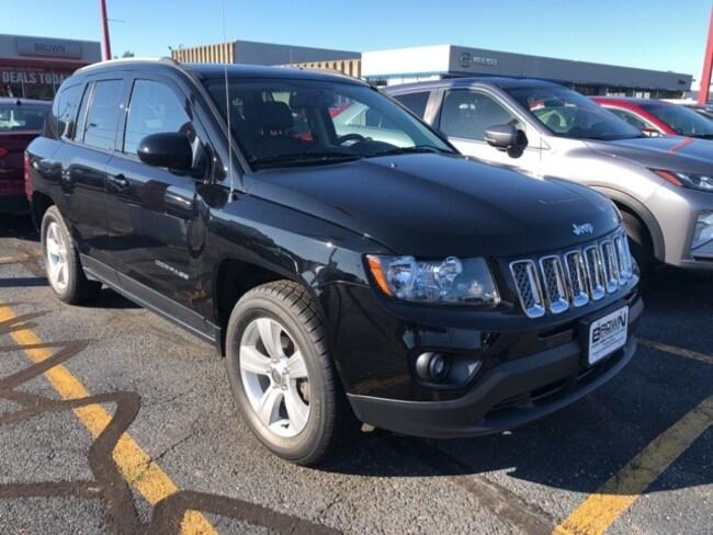 2017 Jeep Compass Latitude 4x4 SUV for sale in Toledo at Brown Mazda
