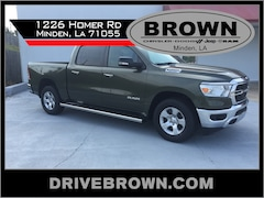 New 2020 Ram 1500 BIG HORN CREW CAB 4X2 5'7 BOX Crew Cab For Sale Shreveport, Louisiana