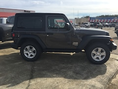 New 2020 Jeep Wrangler SPORT S 4X4 Sport Utility For Sale Shreveport, Louisiana