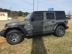 New 2020 Jeep Wrangler UNLIMITED SPORT S 4X4 Sport Utility For Sale Shreveport, Louisiana