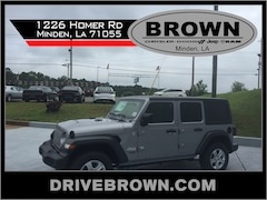 New 2019 Jeep Wrangler UNLIMITED SPORT S 4X4 Sport Utility For Sale Shreveport, Louisiana