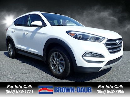 Phillipsburg Easton Hyundai >> Used 2017 Hyundai Tucson Eco For Sale Brown Daub Volvo