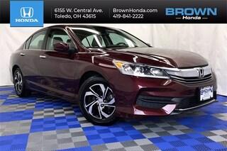 Used 2017 Honda Accord LX Sedan For Sale in Toledo, OH