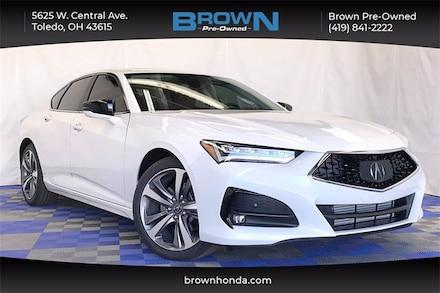 2021 Acura TLX Advance Package Sedan