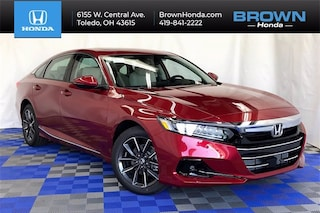 New 2021 Honda Accord EX-L 1.5T Sedan 1HGCV1F5XMA091321 for sale in Toledo, OH