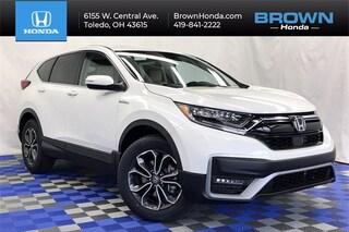 New 2021 Honda CR-V Hybrid EX-L SUV For Sale in Toledo, OH