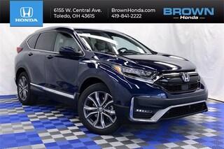 New 2021 Honda CR-V Hybrid Touring SUV For Sale in Toledo, OH