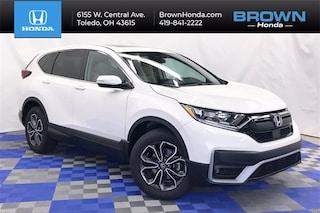 New 2021 Honda CR-V EX AWD SUV 5J6RW2H56ML008216 For Sale in Toledo, OH