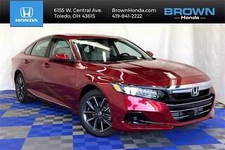 New 2021 Honda Accord EX-L 1.5T Sedan 1HGCV1F56MA002960 for sale in Toledo, OH