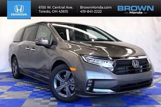 new 2022 Honda Odyssey EX Van for sale in Toledo, OH