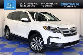 New 2021 Honda Pilot EX-L AWD SUV For Sale in Toledo, OH