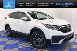 New 2021 Honda CR-V EX AWD SUV 5J6RW2H55MA004153 For Sale in Toledo, OH