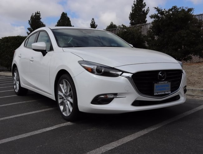 New 2017 Mazda Mazda3 Grand Touring Sedan In Cerritos