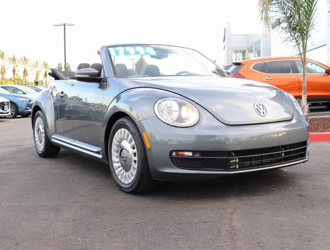 used 2016 Volkswagen Beetle 1.8T Convertible In Cerritos