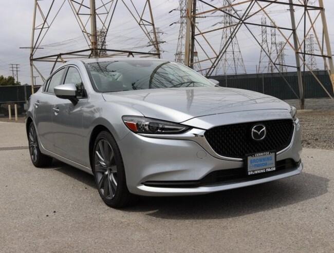 New 2018 Mazda Mazda6 Grand Touring Sedan In Cerritos