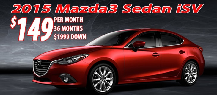 Mazda for lease