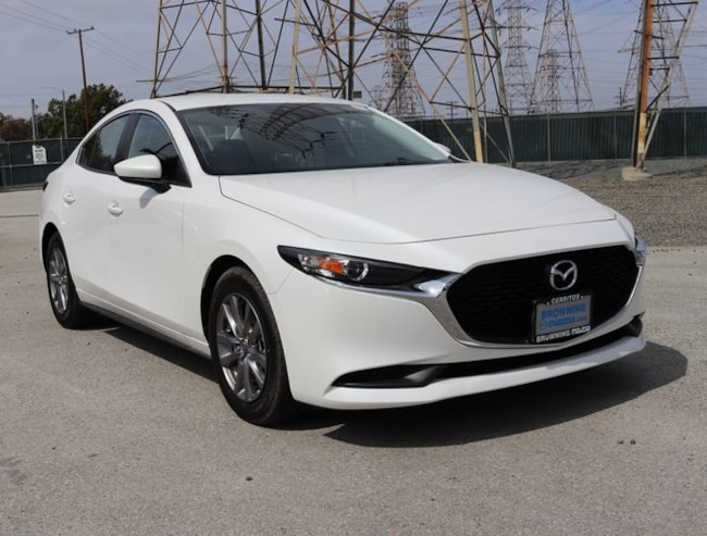 New 2019 Mazda Mazda3 Sedan In Cerritos