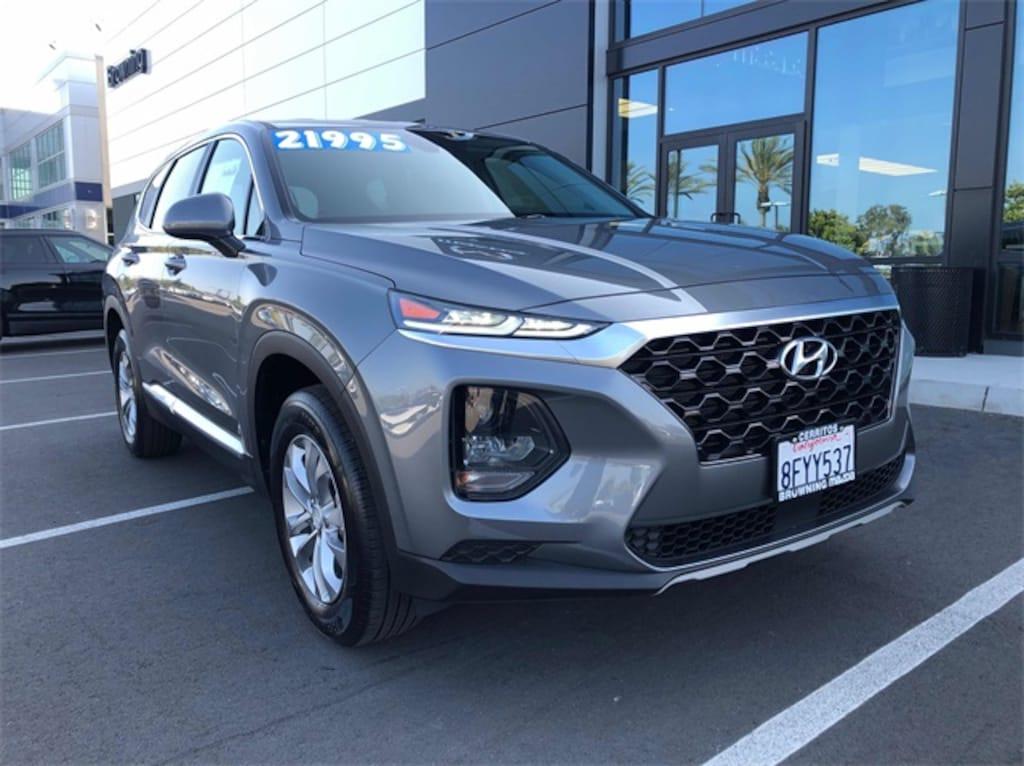 Mazda Santa Fe >> Used 2019 Hyundai Santa Fe Se 2 4 For Sale In Cerritos Ca Serving Long Beach Anaheim Huntington Beach Vin 5nms23ad2kh009601
