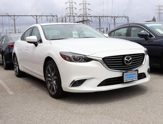 New 2017 Mazda Mazda6 Grand Touring Sedan In Cerritos