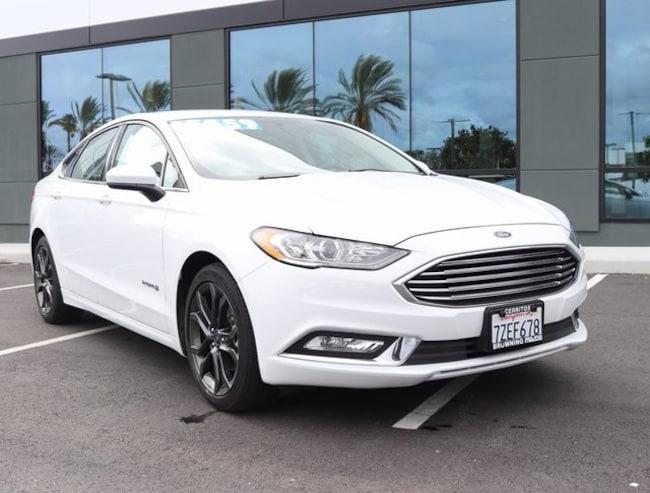 used 2018 Ford Fusion Hybrid SE Sedan In Cerritos