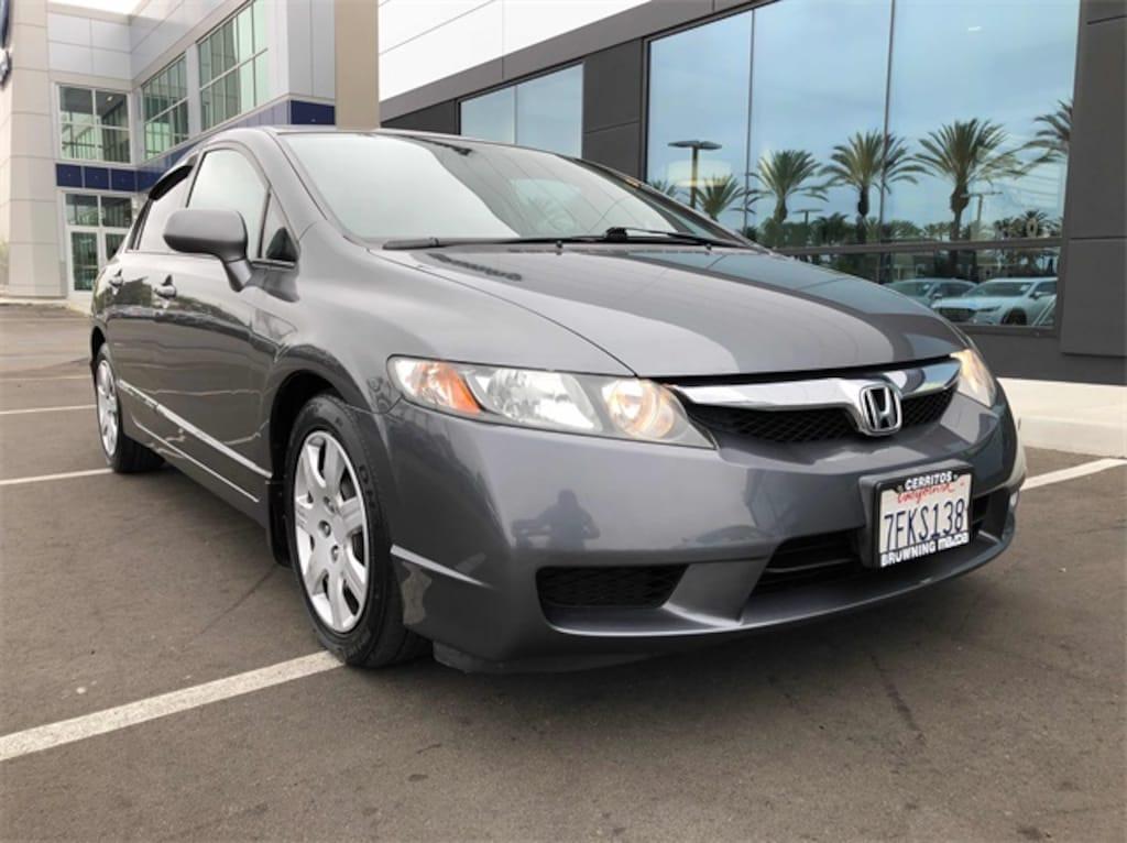 2009 Honda Civic For Sale >> Used 2009 Honda Civic Lx For Sale In Cerritos Ca Serving Long Beach Anaheim Huntington Beach Vin 19xfa16549e039694
