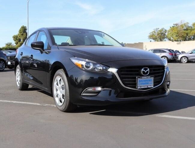 New 2018 Mazda Mazda3 Sport Sedan In Cerritos