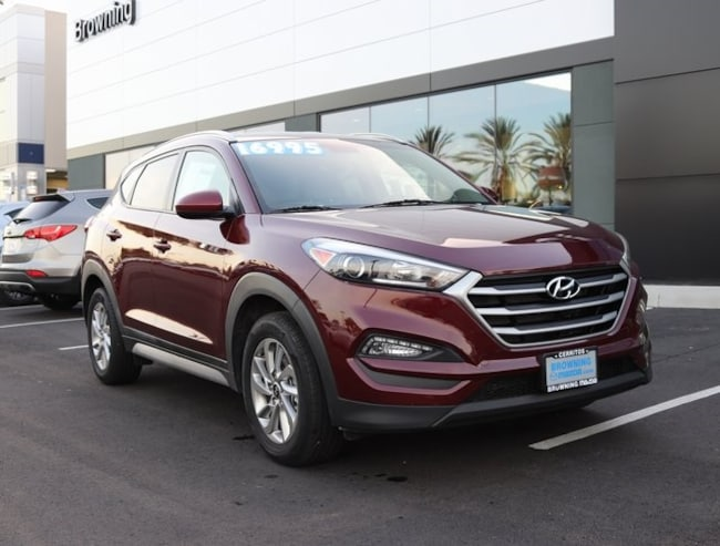 used 2018 Hyundai Tucson SEL SUV In Cerritos