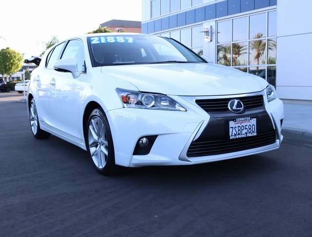 Used 2016 LEXUS CT 200h Hatchback In Cerritos