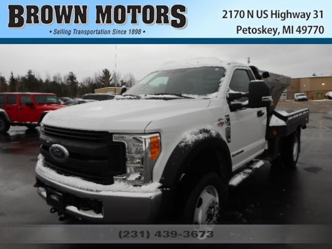 2017 Ford F-550 Chassis XLT Truck Regular Cab