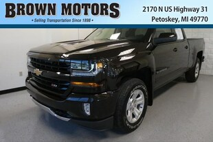 2018 Chevrolet Silverado 1500 4WD Double Cab 143.5 LT w/2LT Extended Cab Pickup