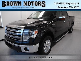 2013 Ford F-150 4WD Supercrew 157 Lariat Crew Cab Pickup