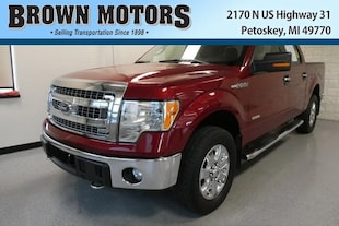 2014 Ford F-150 4WD Supercrew 145 XLT Crew Cab Pickup