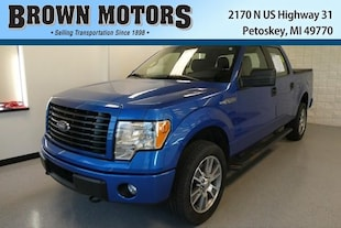 2014 Ford F-150 4WD Supercrew 145 STX Crew Cab Pickup